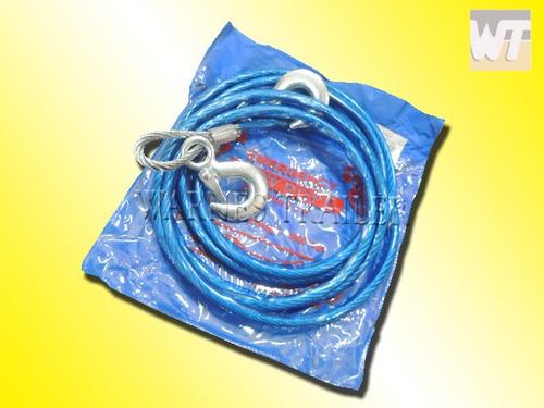 eslinga linga cable de acero 8 mm  para remolcar