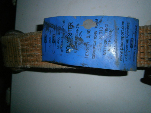 eslinga rachet usada pero en buen estado