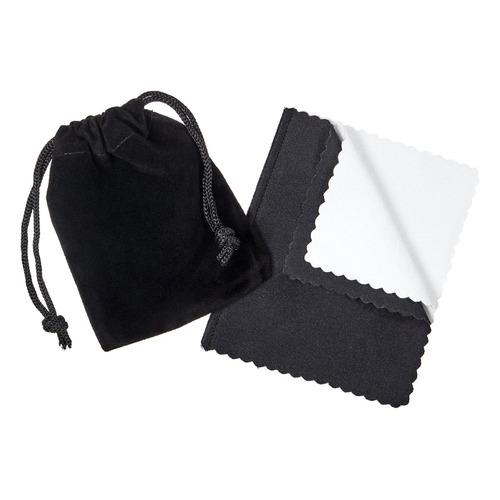 esmaltado negro con esmalte chapado en 8 mm en forma de homb