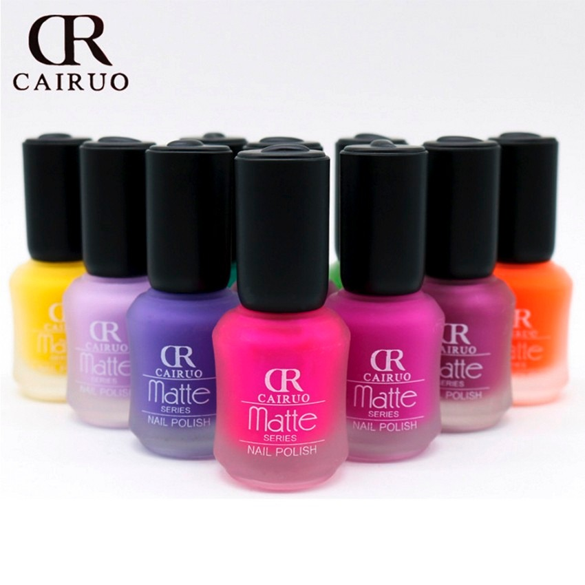 Esmalte barniz de u as caja 24 pzas colores mate de moda - Color de unas de moda ...