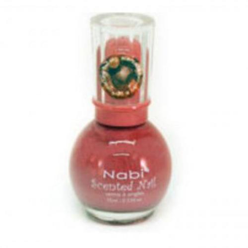 esmalte con aroma chocolate nabi scented 15 indian pink - ro