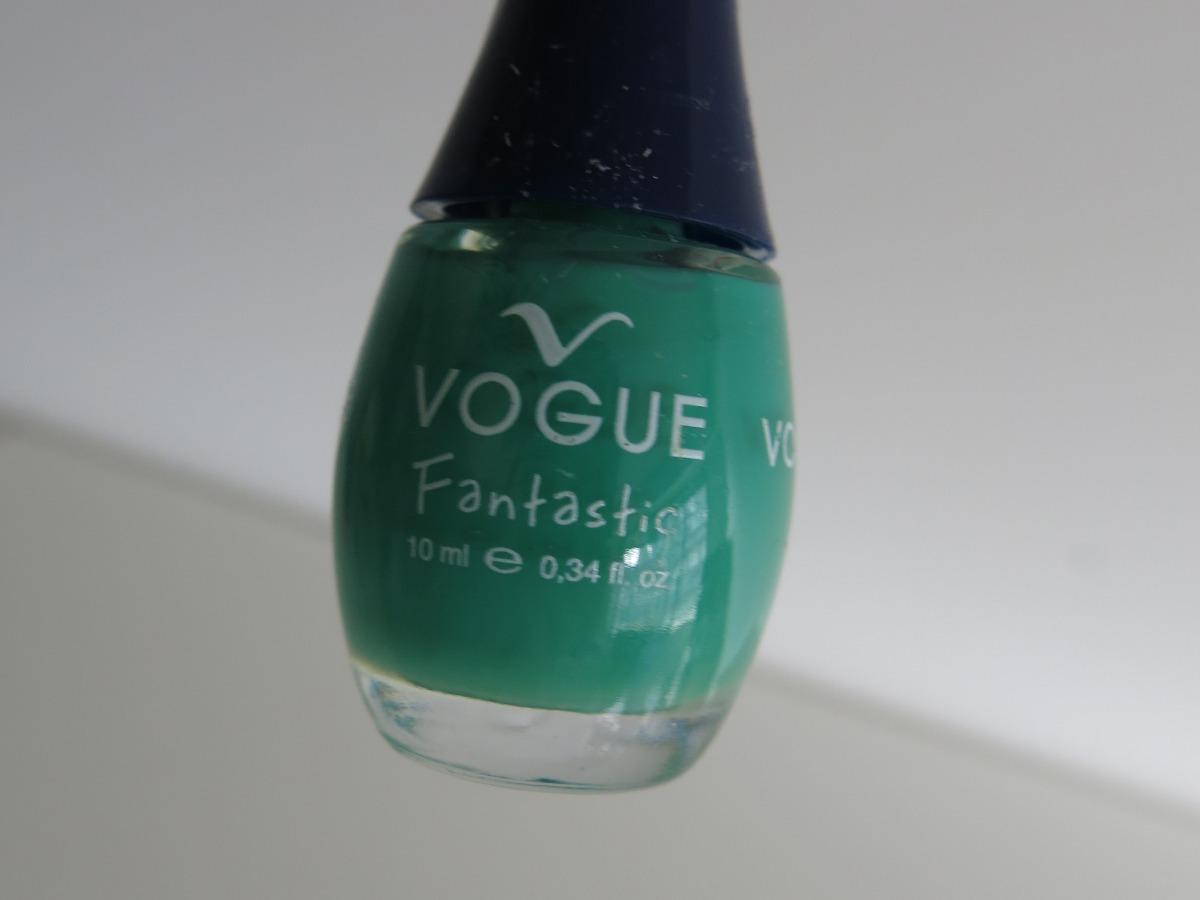 Esmalte De Uñas Color Verde Menta Marca Vogue - $ 55,00 en Mercado Libre
