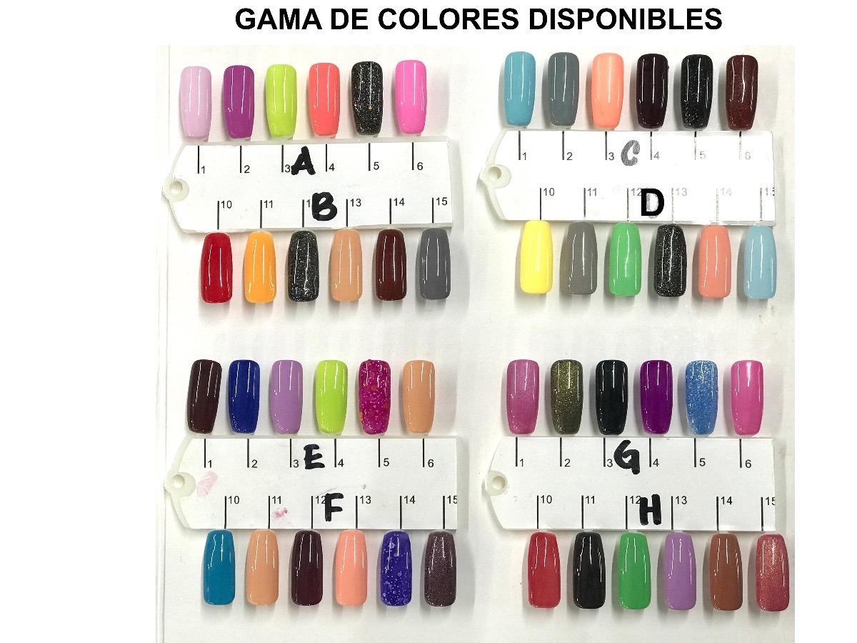 Esmalte De Uñas Gelish Térmico + Lampara Mini Uv O Led - $ 599.00 en ...