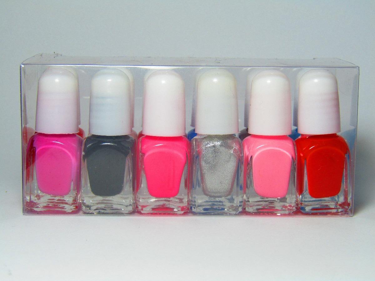 Esmalte De Uñas Mini Souvenir 4,5 Cm Pack X 30 - $ 245,00 en Mercado ...