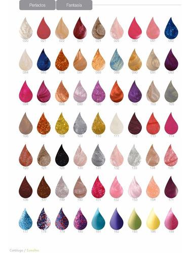 esmalte de uñas perlados raffinée colores a elección