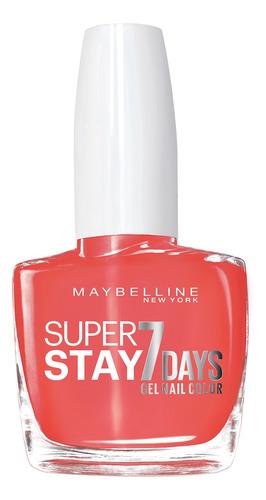 esmalte de unas superstay 7 days maybelline