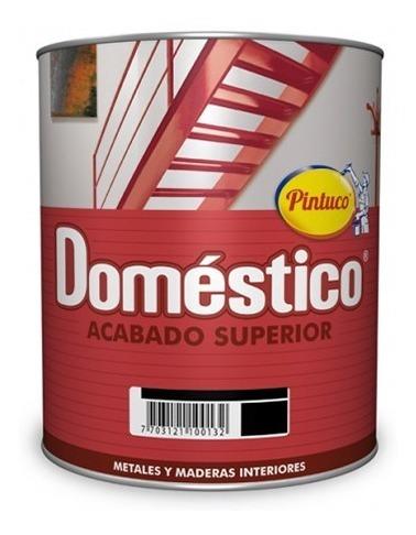 esmalte domestico aluminio p-153 galon pintuco