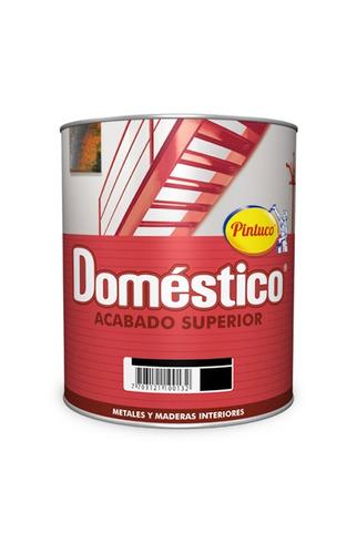 esmalte domestico mate supersintetico blanco 6w galon pintuc