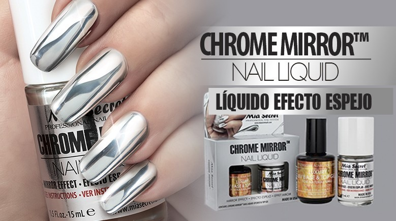 Esmalte Efecto Espejo Marca Mia Secret Chrome Mirror - $ 390.00 en ...