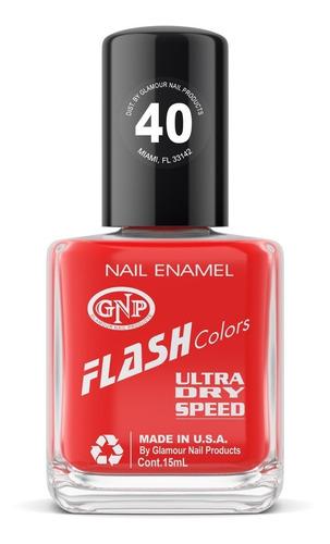 esmalte flash colors de gnp 15ml nro.40