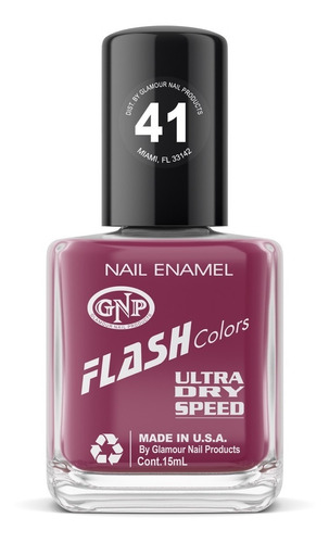 esmalte flash colors de gnp 15ml nro.41