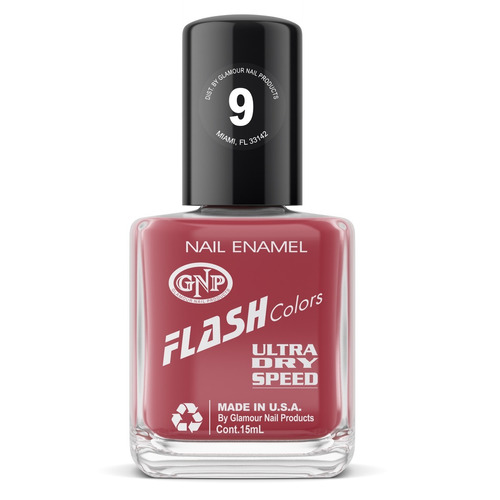 esmalte flash colors de gnp 15ml nro.9