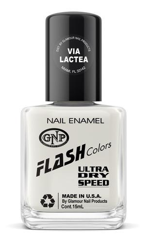 esmalte flash colors de gnp 15ml via láctea