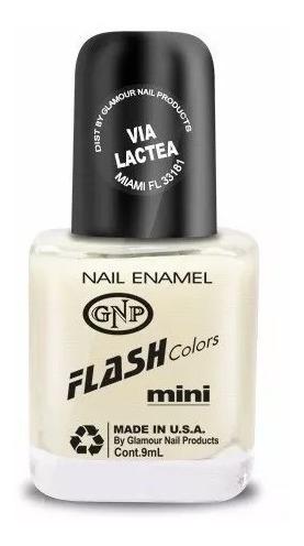 esmalte flash colors de gnp 9ml via lactea