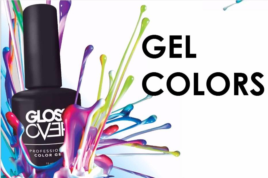 Esmalte Gel Uñas Tipo Gelish Gloss Over Color Morado Magic ...