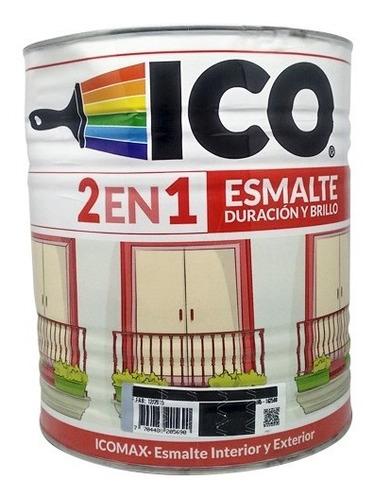 esmalte icomax blanco 1/4 galon 12213-00104