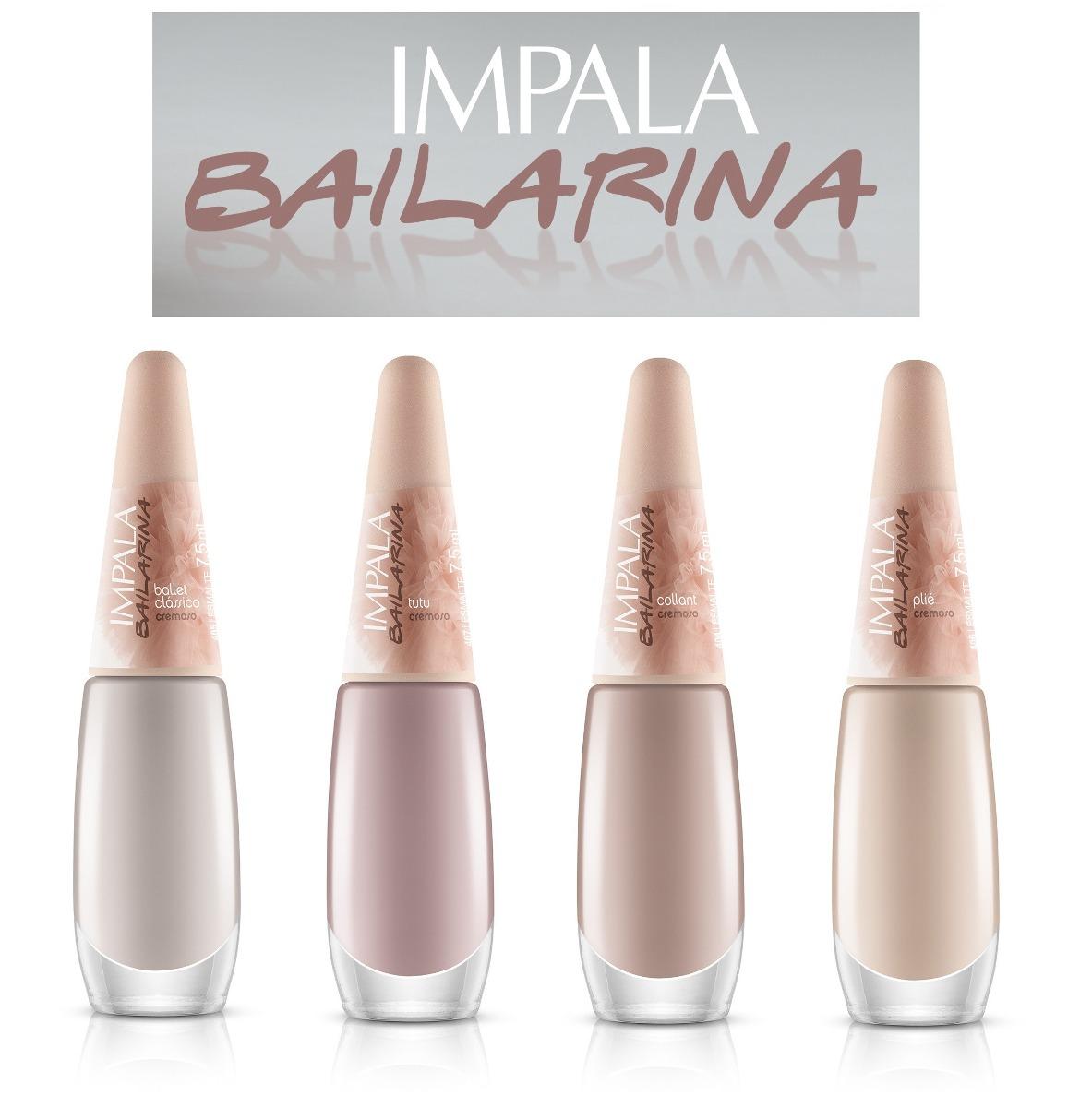 4347cb8957 Esmalte Impala Bailarina 4 Cores 7