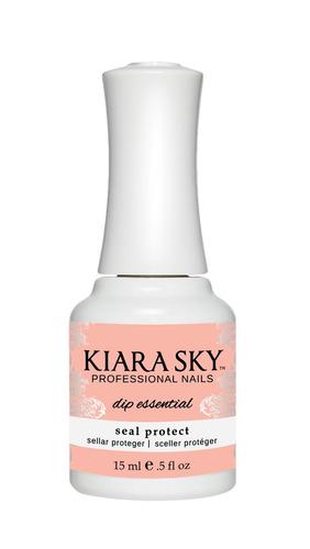 esmalte kiara sky dip powder essentials seal protect dsp3