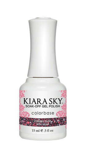 esmalte  kiara sky gel polish cherry dust g464