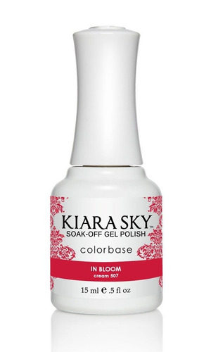 esmalte  kiara sky gel polish in bloom g507
