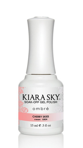 esmalte  kiara sky gel polish ombre cherry skies g824