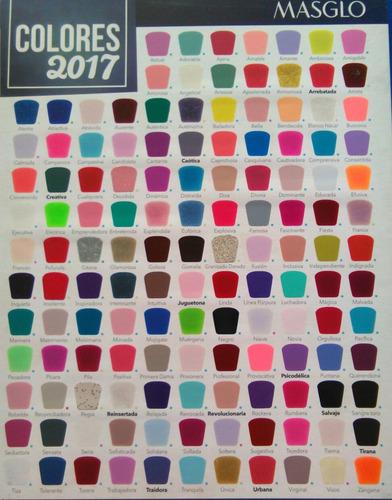 esmalte masglo colección 2018 tonos nuevos y tradicionales!!
