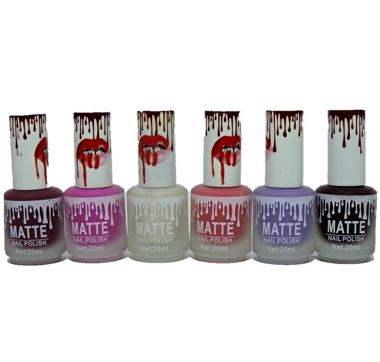 Esmalte Matte Mate Uñas Kylie 20ml X Mayor - $ 29,99 en Mercado Libre