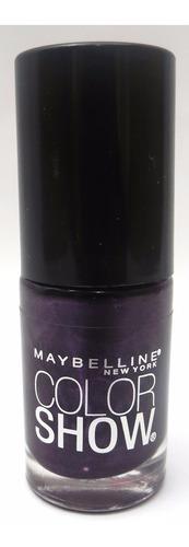 esmalte maybelline color show 7ml cor: 185 deep in violet