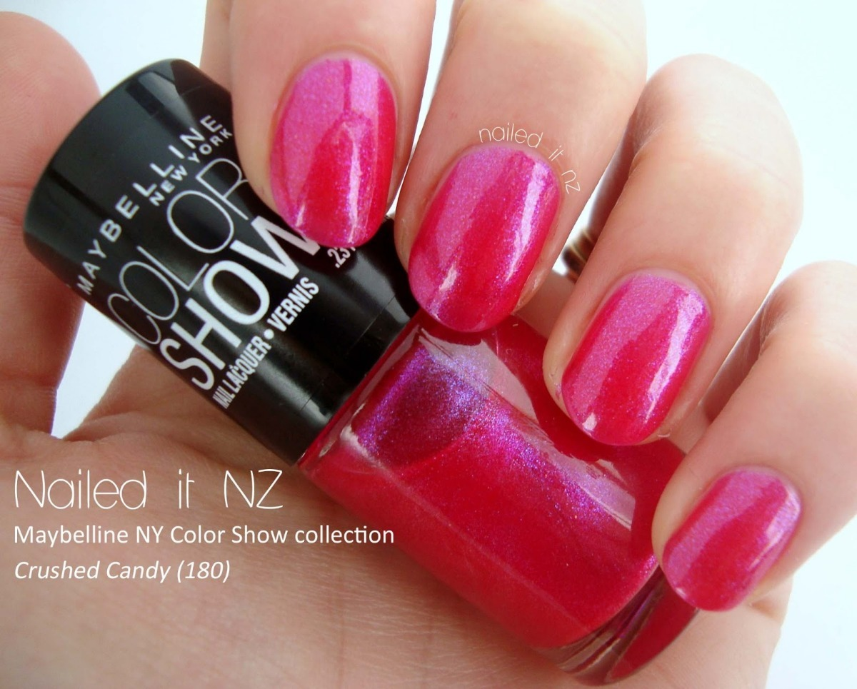 Esmalte Maybelline Color Show Lacquer Crushed Candy 180 - $ 140,00 ...