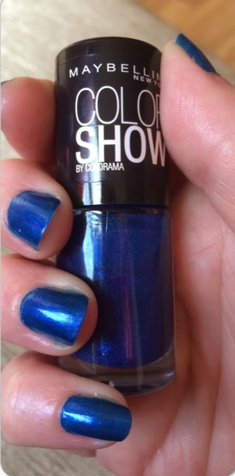 Esmalte Maybelline Color Show Midnight Blue 345 Cargando Zoom