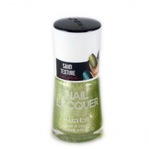 esmalte nabi con textura arena 07 green - verde