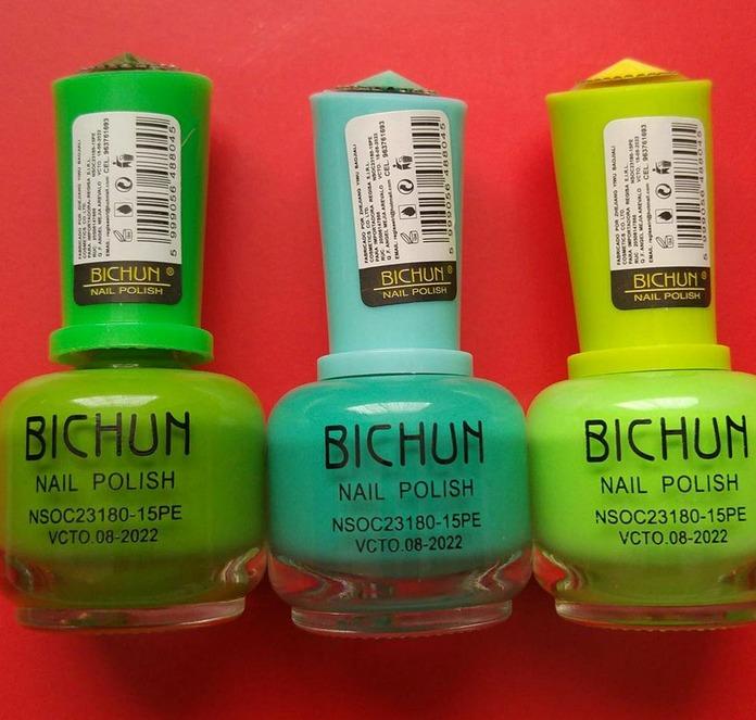 Esmalte Nail Polish Bichum - S/ 5,00 en Mercado Libre