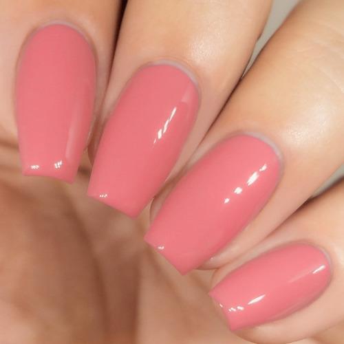 esmalte para uñas kiara sky dip powder pink slippers d407