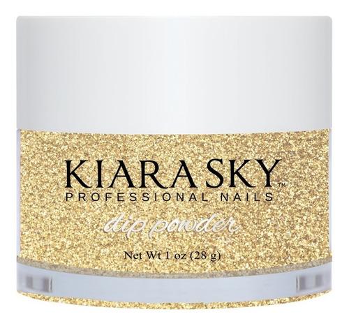 esmalte para uñas kiara sky dip powder pixie dust d554