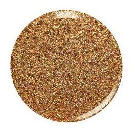 esmalte para uñas kiara sky dip powder strike gold d433