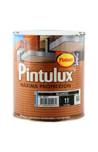 esmalte sintetico pintulux rojo 29 1/4 galon pintuco
