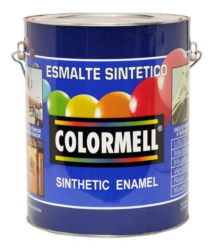 esmalte sintetico venier colormell brillante 4lt - rex