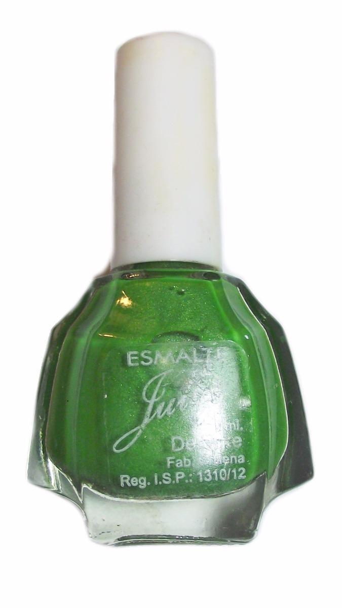 Esmalte Top Coat Capa Final Protector Uñas Con Brillo Verde ...