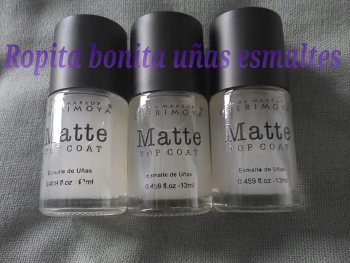Esmalte Top Coat Mate Matte, Transparente No Opi No Konad - $ 2.500 ...