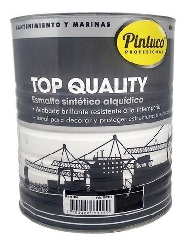 esmalte top quality azul oscuro 9407 galon pintuco
