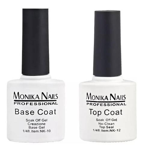 esmalte uñas gel base y top soak-off semipermanente 7.5 ml.
