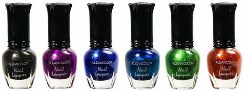 esmalte uñas kleancolor 5ml nail lacquer 50 pzs no saldo
