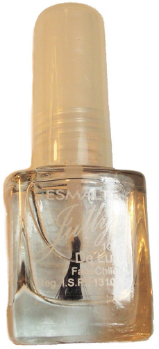 esmalte uñas transparente brillante efecto acabado espejo