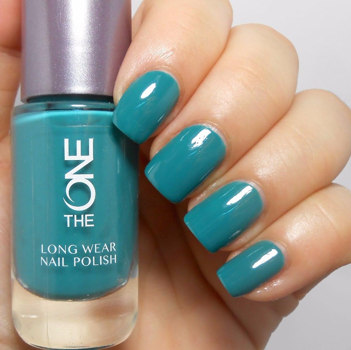 esmalte uas verde esmeralda azulado color a la moda moderno cargando zoom - Color De Uas De Moda