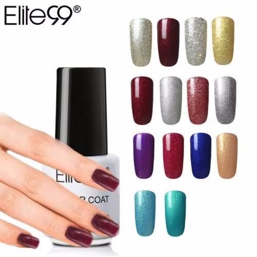Esmalte Uv Gel Para Uñas 60 Colores Diferentes Elite99
