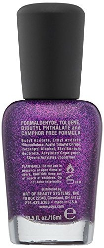 Uas Color Morado Oscuro Violeta Beautiful Disenos De Unas Color