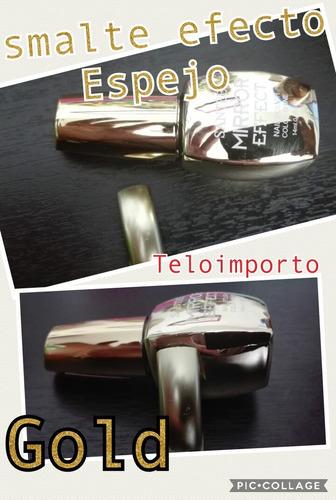 esmaltes efecto espejo originales uñas esmalte 3 unidades