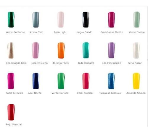 esmaltes esika - oferta esmaltes tonos varios desde 8 soles