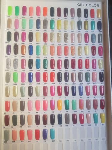 esmaltes gelish 50 piezas 21 dias de color envio gratis