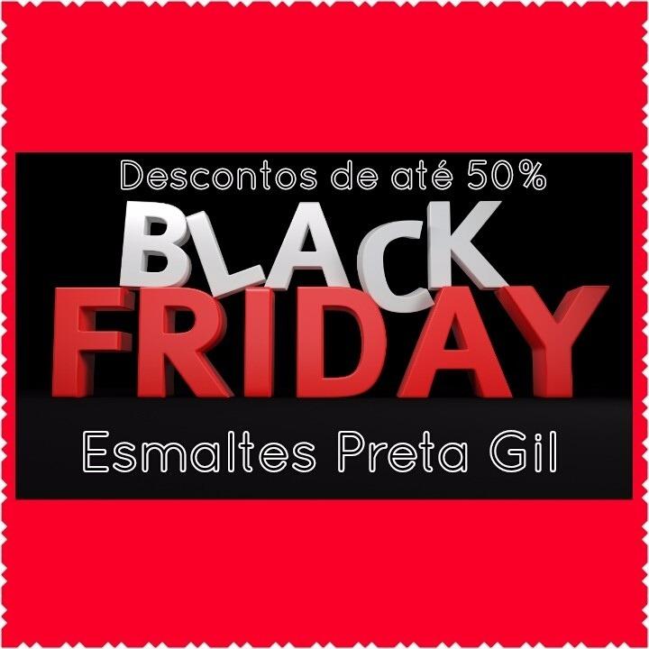 4ecc796ef Esmaltes Preta Gil Kit C  30 Tons Black Friday 2019 - R  123